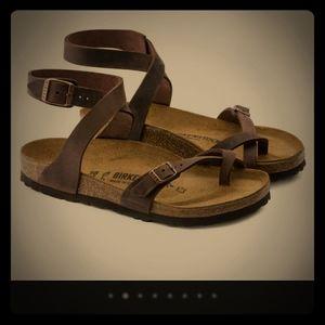Used Yara Birkenstock Sandals size 37